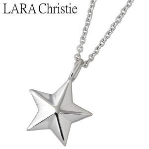 LARA Christie ララクリスティー シルバー ネックレス レディース ステラ ホワイト スター|baby-sies