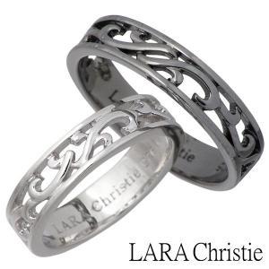 LARA Christie ララクリスティー シルバー リング 指輪 ペアー ランソー ホワイト ブラック|baby-sies