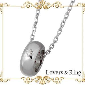 Lovers & Ring ラバーズリング ダイヤモンド シルバー ネックレス|baby-sies