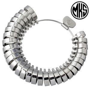 MKS 明工舎 メイコー平打 リング 指輪ゲージ 1〜30号 全国標準規格 指のサイズを測る