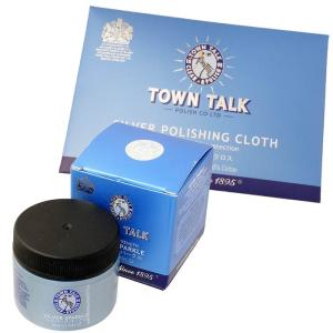 TOWN TALK シルバー スパークル & シルバー 磨き クロスセット シルバー 洗浄液 タウントーク お手入れ用品 シルバー クリーナー