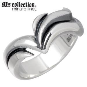 訳有り30%OFF M's collection エムズコレクション-ミニッツライン シルバー リング レディース 指輪|baby-sies
