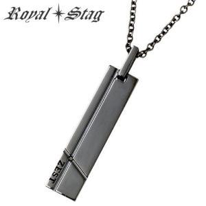 Royal Stag Zest ロイヤルスタッグ ゼスト プレート シルバー ネックレス ダイヤモンド|baby-sies