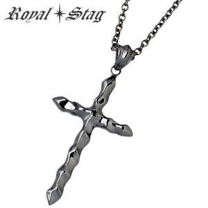 Royal Stag Zest ロイヤルスタッグ ゼスト クロス シルバー ネックレス ダイヤモンド|baby-sies