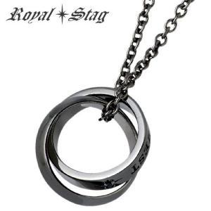 Royal Stag Zest ロイヤルスタッグ ゼスト ダブル リング ネックレス ダイヤモンド|baby-sies
