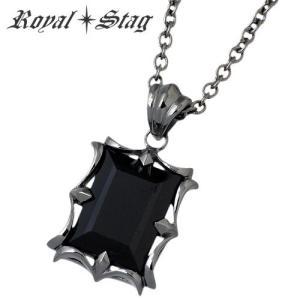 Royal Stag Zest ロイヤルスタッグ ゼスト オニキス シルバー ネックレス|baby-sies