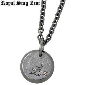 Royal Stag Zest ロイヤルスタッグゼスト シルバー ネックレス レッドダイヤモンド|baby-sies