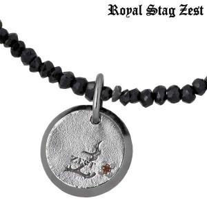 Royal Stag Zest ロイヤルスタッグゼスト シルバー ネックレス レッドダイヤモンド ブラックスピネル|baby-sies