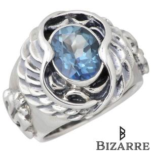 Bizarre ビザール エンジェル シルバー リング 2nd ミスティックトパーズ 指輪...