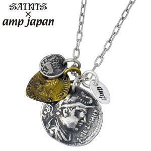 SAINTS X amp japan セインツ×アンプジャパン ギリシャ コイン ネックレス メンズ|baby-sies