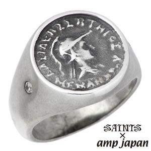 SAINTS X amp japan セインツ×アンプジャパン 女神 アテナ リング 指輪 メンズ 17号 19号|baby-sies