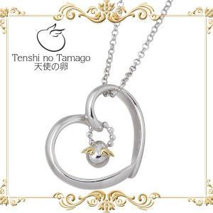 天使の卵 Tenshi no Tamago オープン ハート シルバー ネックレス baby-sies