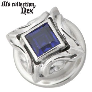 M's collection エムズコレクション-ネクス シルバー コンチョ サファイア|baby-sies