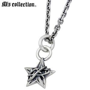 M's collection エムズ コレクション ミニ スター シルバー ネックレス メンズ レディース 星 baby-sies