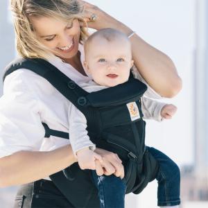 \ポイント10倍+レビュー特典/ エルゴ 抱っこ紐 オムニ 360 クールエア メッシュ ブラック 最新ウエストベルト付 Ergobaby OMNI 360 抱っこひも正規品2年保証 baby-smile 16
