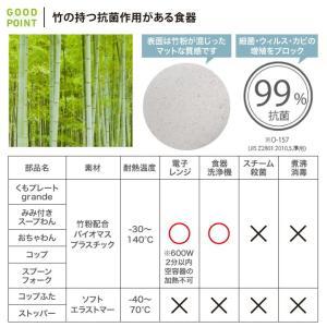 10mois(ディモア) mamamanma grande(マママンマ グランデ)セット ブルー|お食事セット ベビー食器 離乳食 雲の形 出産祝い 耐熱 フィセル 日本製|baby-smile|11