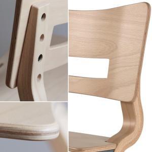 【正規品8年保証】Leander(リエンダー) ハイチェア ナチュラル 子供用椅子 木製ベビーチェア 北欧 デザイン 軽い あすつく baby-smile 04