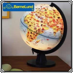 【あすつく】ボーネルンド LED ライトアップ地球儀28cm |地球儀 子供用 おもちゃ 【送料無料】【ボーネルンド日本正規品】|baby-smile