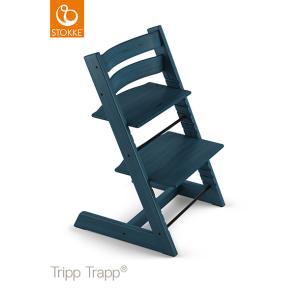 【あすつく】【ストッケ正規販売店】ストッケ トリップトラップ ミッドナイトブルー|ハイチェア|Stokke Tripp Trapp Chair|baby-smile