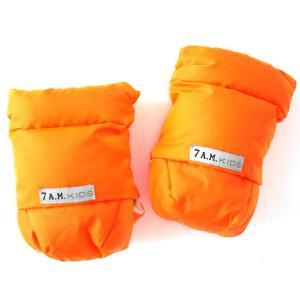 7AMENFANT (セブンエイエムアンファン)  Kids Hand Muff HM212KS Neon Orange L|自転車のチャイルドシート用キッズハンドマフ|メール便不可|baby-smile