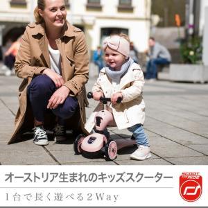 Scoot & Ride(スクートアンドライド) ハイウェイキック1 フォレスト アッシュ ローズ スチール|三輪車 キックスクーター あすつく|baby-smile|05