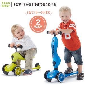 Scoot & Ride(スクートアンドライド) ハイウェイキック1 フォレスト アッシュ ローズ スチール|三輪車 キックスクーター あすつく|baby-smile|06