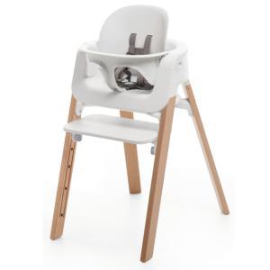 STOKKE ステップス ベビーセット ホワイト/ブラック/ピンク/アクアブルー|ステップス チェア用ベビーセット|ハイチェア Stokke Steps Chair|baby-smile|03