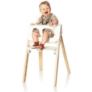 STOKKE ステップス ベビーセット ホワイト/ブラック/ピンク/アクアブルー|ステップス チェア用ベビーセット|ハイチェア Stokke Steps Chair|baby-smile|04