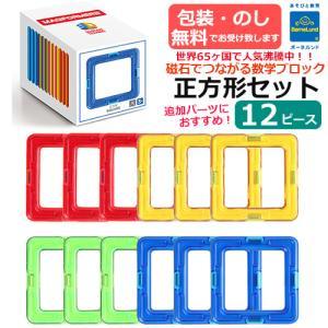 ボーネルンド マグ・フォーマー 正方形セット 12ピース|baby-st