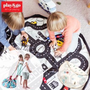 プレイマット play&go プレイ&ゴー 2way 巾着 おもちゃ 収納 バッグ 袋 簡単 お片付...