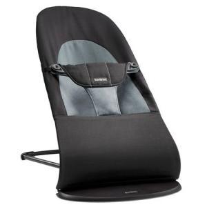 正規輸入品・国内保証 Baby Bjorn ベビービョルン バウンサー バランスソフト (ブラック 005022)
