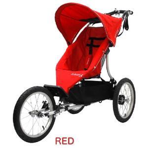 【エアバギー・GMP正規販売店】AirBuggy RUN エアバギーラン (aribuggy run エアバギーRUN) レッド ジョギングベビーカー baby21proshop