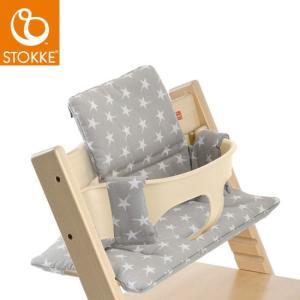 【STOKKEストッケ正規販売店】ストッケトリップトラップクッション (撥水加工あり)Stokke Tripp Trapp Cushion (グレースター)|baby21proshop