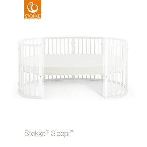 【STOKKEストッケ正規販売店】Stokke ストッケ スリーピージュニアベッドキット +スリーピージュニア専用マットレス (ホワイト)|baby21proshop