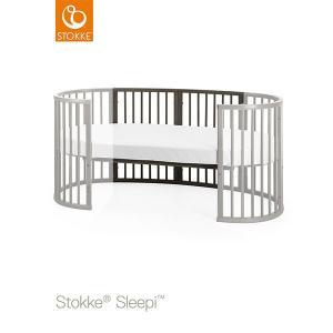 【STOKKEストッケ正規販売店】Stokke ストッケ スリーピージュニアベッドキット +スリーピージュニア専用マットレス (ヘイジーグレー)|baby21proshop