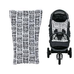 【エアバギー・GMP正規販売店】AirBuggyオリジナルストローラーマット ベビーカー用シートクッションマット(グラシスブラック)|baby21proshop