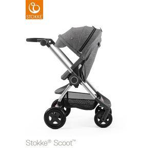 【STOKKEストッケ正規販売店】StokkeScoot2新スクート2セットベーシックキット(ブラックメラーンジ)キャノピー(ブラックメラーンジ)|baby21proshop
