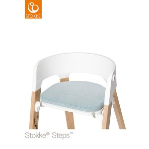 【STOKKEストッケ正規販売店】ステップスチェアクッション (ジェイドツィル) Steps Chair Cushion|baby21proshop