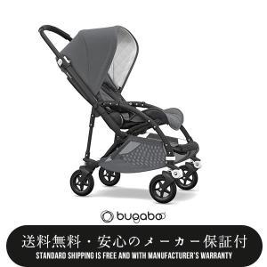 【bugabooバガブー正規販売店】bee5ビー5 クラシックコレクション コンプリート ブラックフレーム/グレーメランジ(550321AE01)|baby21proshop