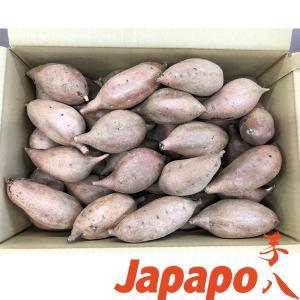 【芋八Japapo正規販売店】安納芋 鹿児島県産さつまいも S〜Mサイズ5kg箱 あんのういも (店頭販売の焼き芋をご自宅で。スウィートポテトも)代引き不可|baby21proshop
