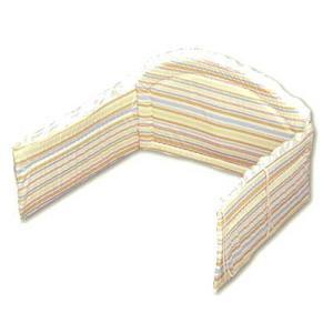 日本製 ベッドガード 「コーナーパッド 半周 ボヌールベベ」レギュラーサイズベッド用|babybed