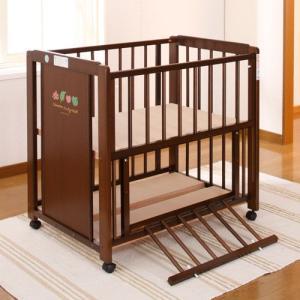 キンタロー ベビーベッド 「ミニ 3WAY パルク II エコ ミニ布団付き」 1台3役のロングライフベッド&ベビーふとんのセット|babybed