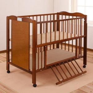 キンタロー ハイタイプ ベビーベッド ベビーベット 「ポムST」お世話がしやすいハイタイプベッド 通販限定商品|babybed