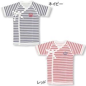 ベビードール BABYDOLL 子供服 ベビー肌着 短肌着 ボーダー 新生児 ベビーサイズ 5719|babydoll-y