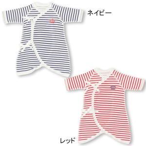 ベビードール BABYDOLL 子供服 ベビー肌着 コンビ肌着 ボーダー 新生児 ベビーサイズ 5723|babydoll-y