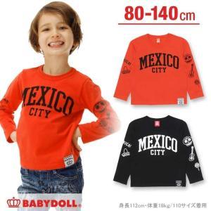 50%OFF SALE ベビードール BABYDOLL 子供服 親子ペア MEXICO ロンT ベビーサイズ キッズ-0246K|babydoll-y