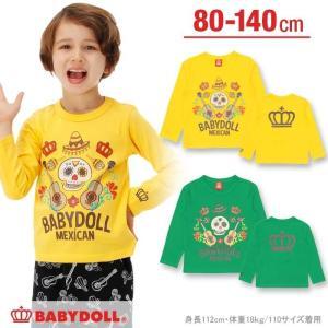 50%OFF SALE ベビードール BABYDOLL 子供服 メキシカンプリント ロンT ベビーサイズ キッズ-0255K|babydoll-y