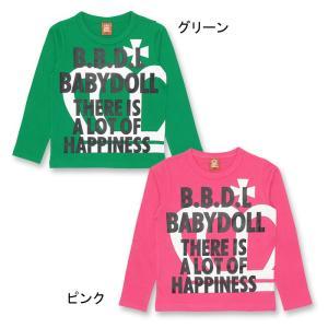 50%OFF SALE ベビードール BABYDOLL 子供服 ロンT 0815K ベビーサイズ キッズ 男の子 女の子|babydoll-y