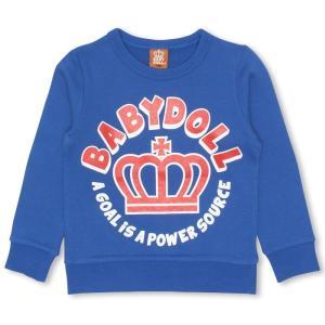 50%OFF SALE ベビードール BABYDOLL 子供服 ロゴ トレーナー 0816K ベビーサイズ キッズ 男の子 女の子|babydoll-y