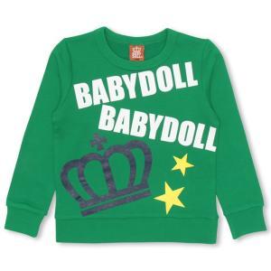 50%OFF SALE ベビードール BABYDOLL 子供服 トレーナー 0823K ベビーサイズ キッズ 男の子 女の子|babydoll-y